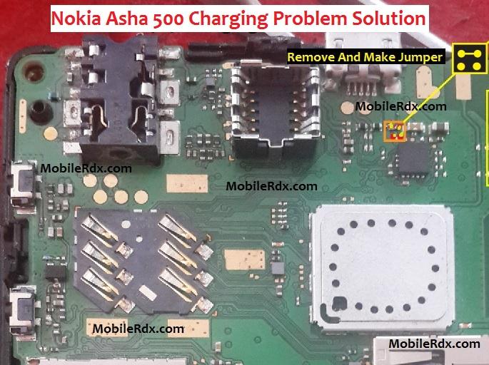 Nokia Asha 500 Charging Problem Jumper Solution Ways