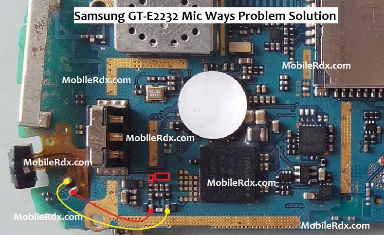Samsung E2232 Mic Problem Jumper Ways Solution