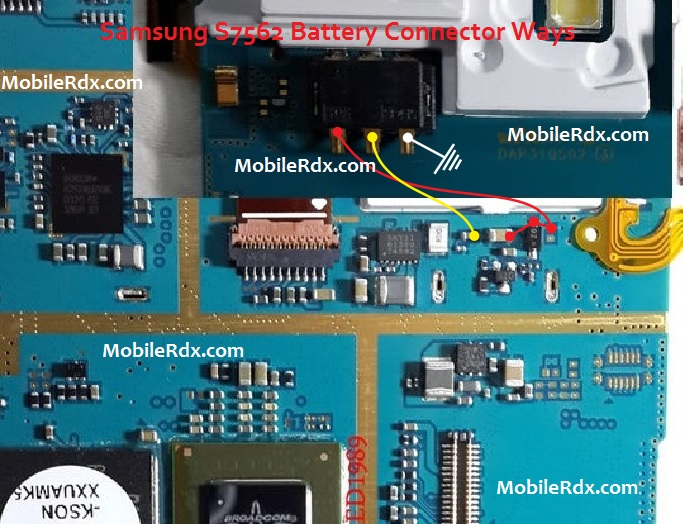 Samsung GT S7562 Battery Connector Jumper Solution Ways