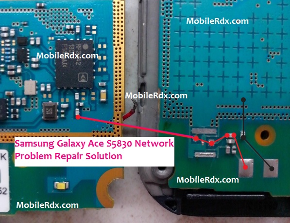 Samsung Galaxy Ace S5830 Network Problem Repair Ways Solution Jumper