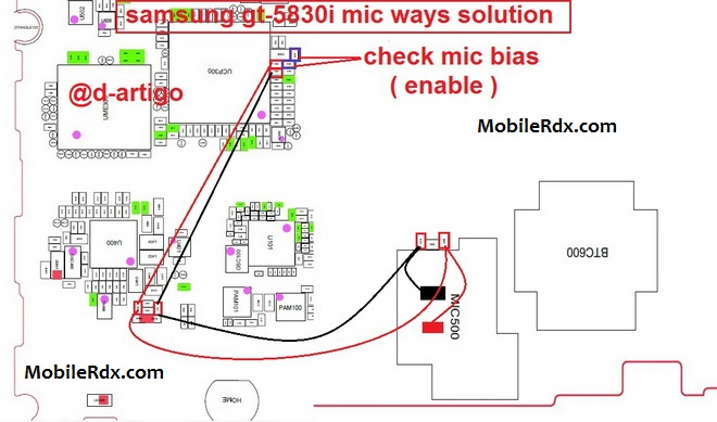 Samsung Galaxy Ace S5830I Mic Problem Solution Jumper Ways