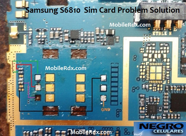 Samsung Galaxy Fame S6810 Sim Card Problem Solution Ways - Samsung Galaxy Fame S6810 Sim Card Problem Solution Ways