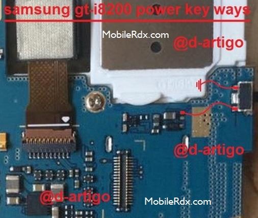Samsung Galaxy S3 Mini I8200 Power On Off Button Ways
