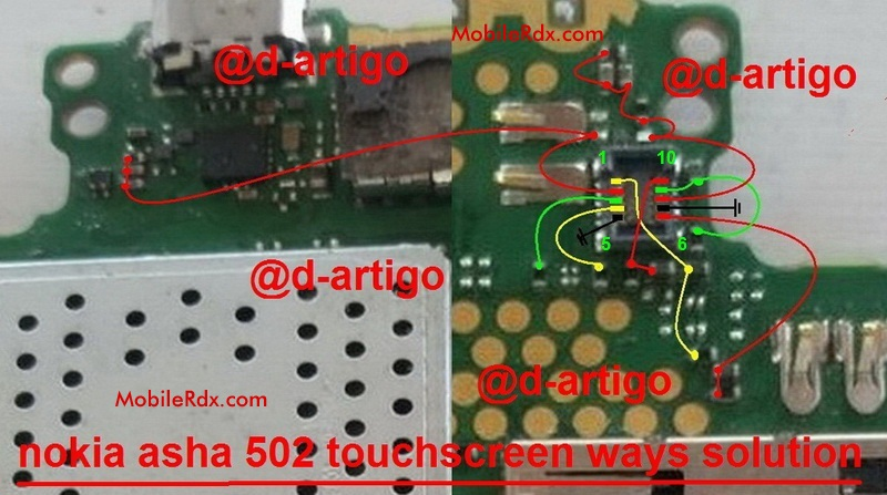 Nokia Asha 502 Touch Screen Ways Problem Jumper
