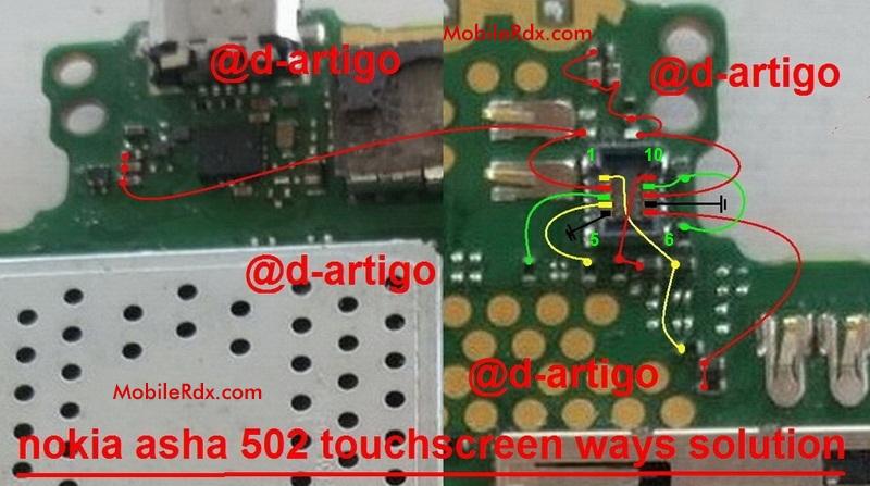 Nokia Asha 502 Touch Screen Ways Problem Jumper