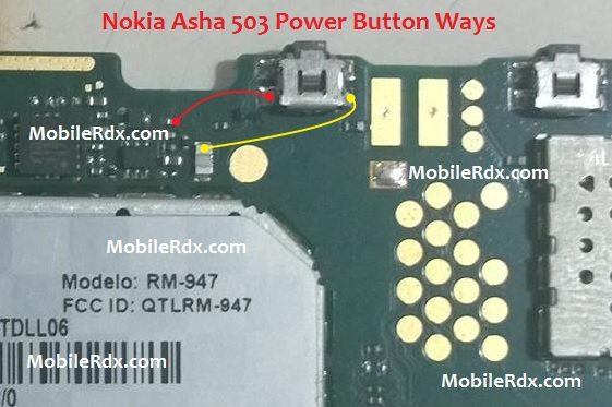 Nokia Asha 503 Power Key Ways Button Jumper Solution