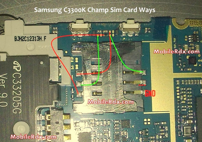 Samsung C3300K Sim Card Solution Jumper Problem Ways