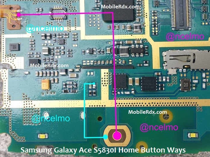 Samsung Galaxy Ace S5830I Home Button Ways Solution