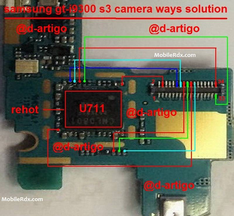 Samsung Galaxy S3 I9300 Camera Problem Repair Solution