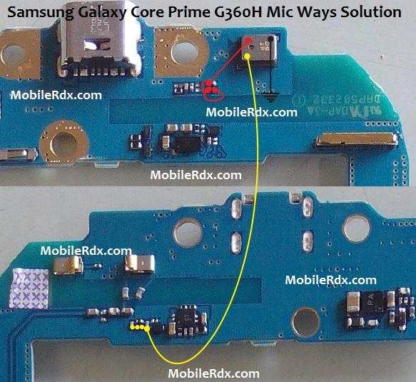 Samsung SM-G360H Mic Solution Jumper Problem Ways
