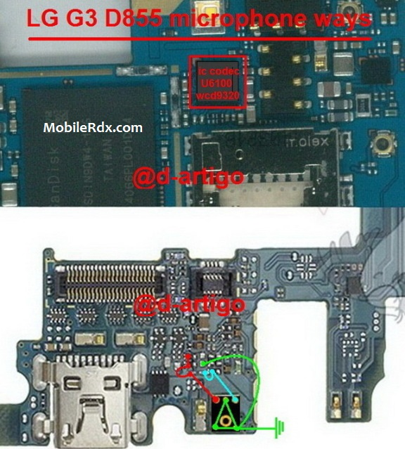 LG G3 D855 Microphone Problem Mic Ways Solution - LG G3 D855 Microphone Problem Mic Ways Solution