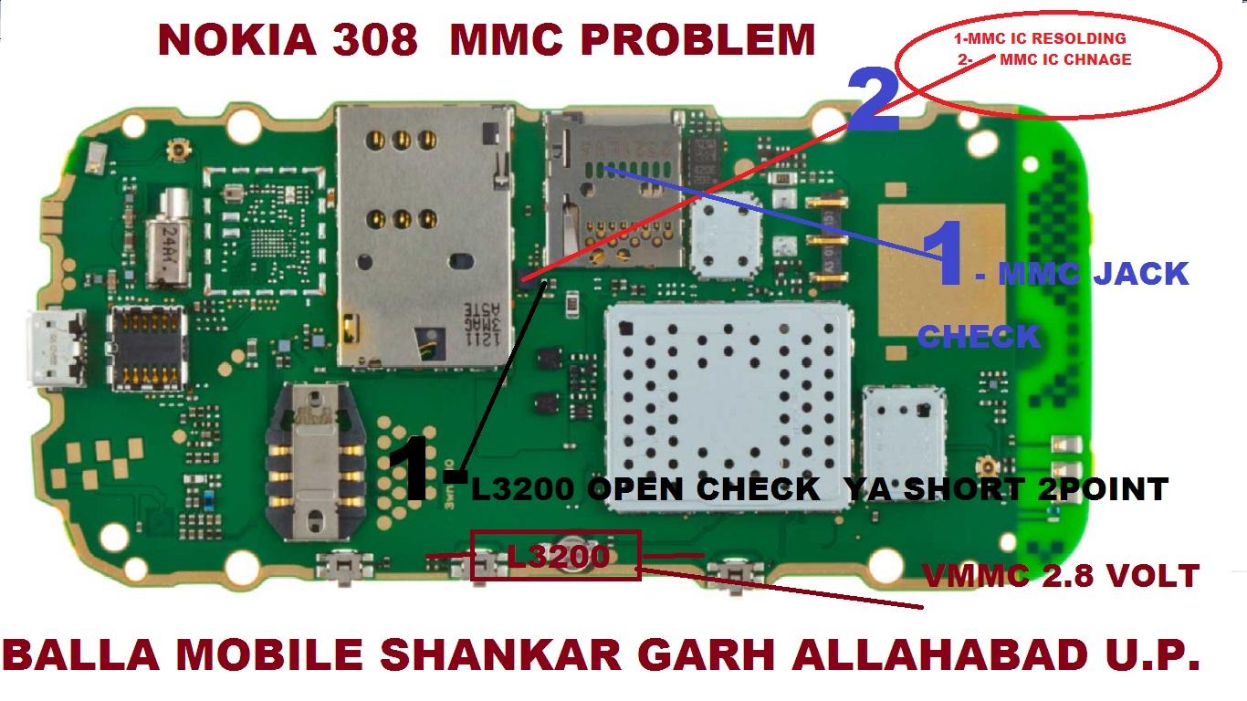Nokia Asha 308 MMC Problem Solution Memory Card Ways - Nokia Asha 308 MMC Problem Solution Memory Card Ways