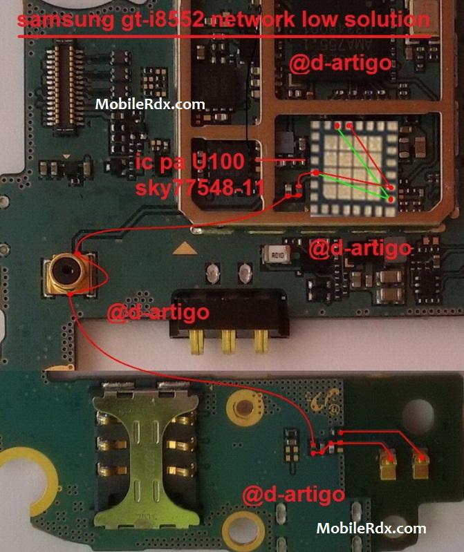 Samsung GT-I8552 Network Problem Ways Repair Solution