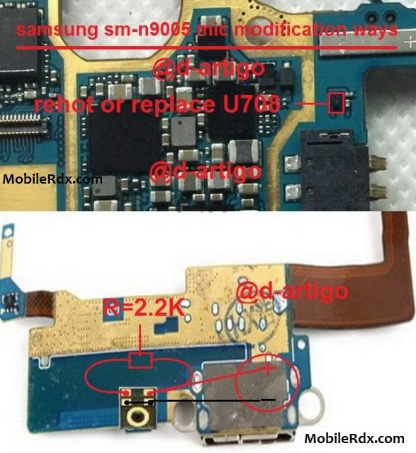 Samsung Galaxy Note 3 N9000 Mic Problem Ways Solution