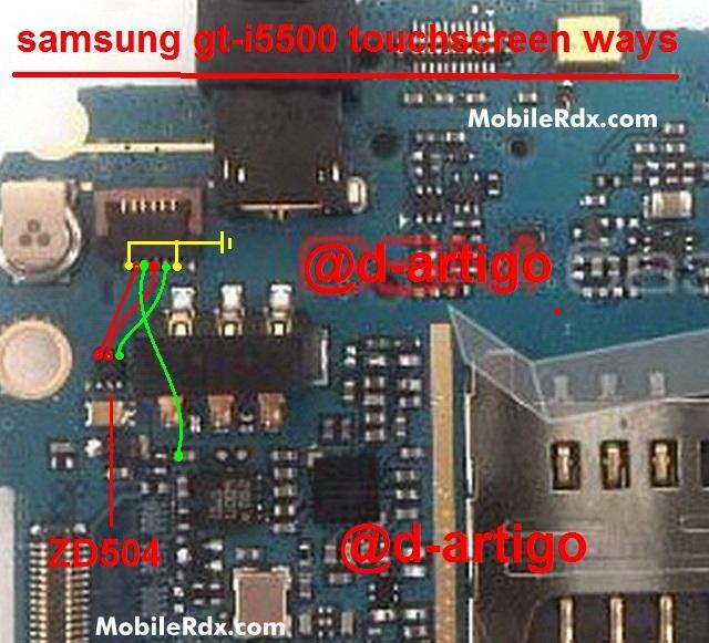 Samsung I5500 Galaxy 5 Touchscreen Ways Solution Jumper
