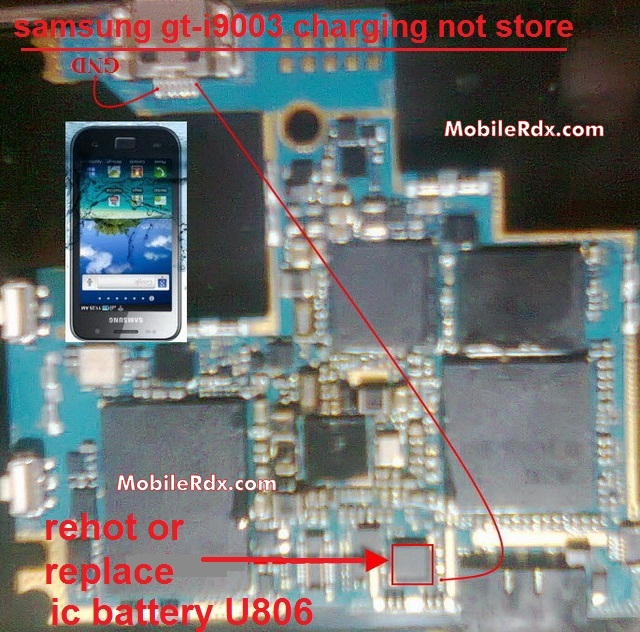 Samsung I9003 Galaxy SL Charging Solution Problem Ways