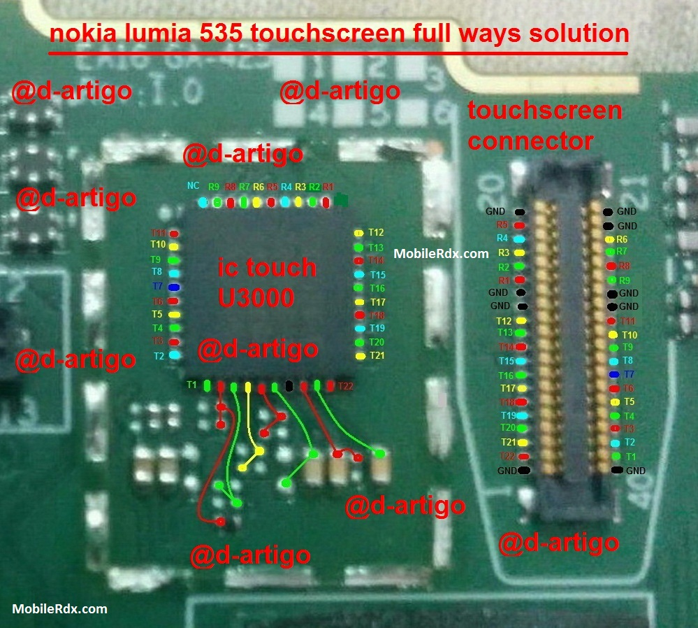 Microsoft Nokia Lumia 535 Touch Screen Problem Solution