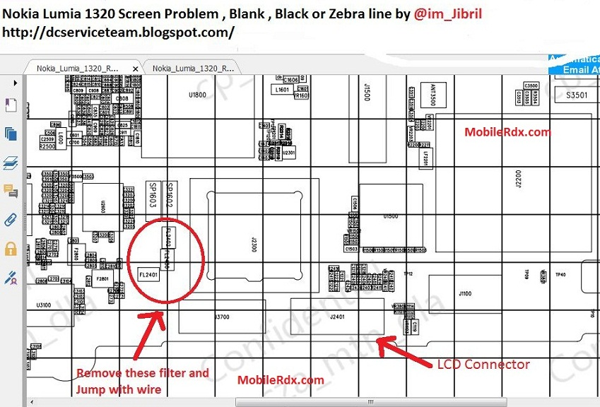 Nokia 1320 Blue Blank and White Display Problem Solution