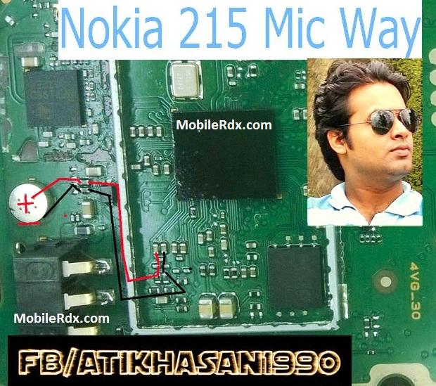 Nokia 215 Mic Solution Jumper Problem Ways - Nokia 215 Mic Solution Jumper Problem Ways