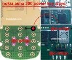 Nokia Asha 300 Power Key Jumper On Off Button Ways