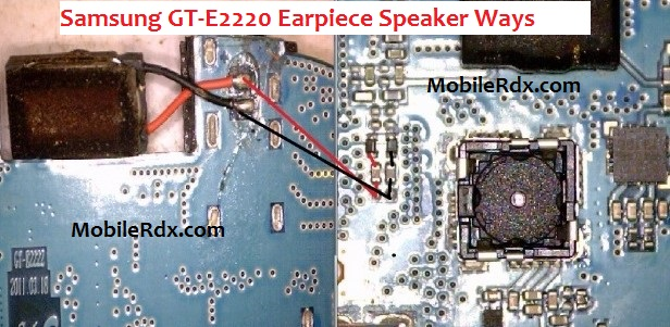 Samsung GT E2220 Earpiece Speaker Problem Ways Solution