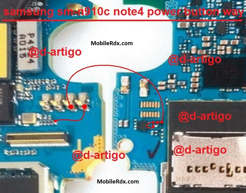 Samsung Galaxy Note 4 N910C Power Button Problem Ways Solution