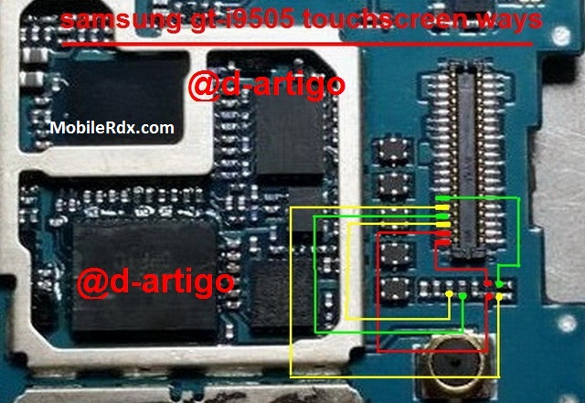 Samsung Galaxy S4 I9505 Touch Screen Problem Ways Solution