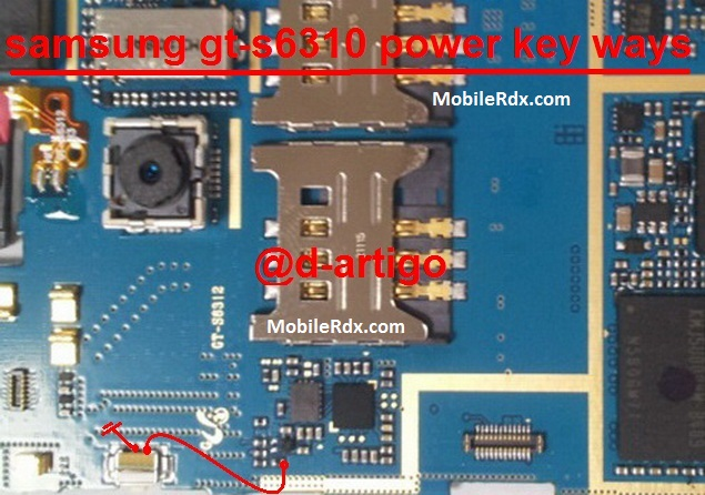 Samsung Galaxy Young S6310 Power Key Ways Problem Solution