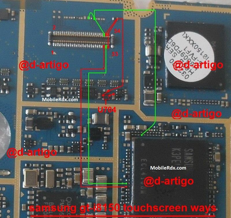 Samsung Galaxy W I8150 Touch Screen Problem Solution