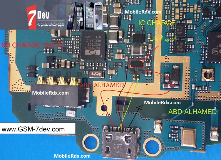 Samsung SM-G316H Charging Ways Solution Usb Ic Jumper