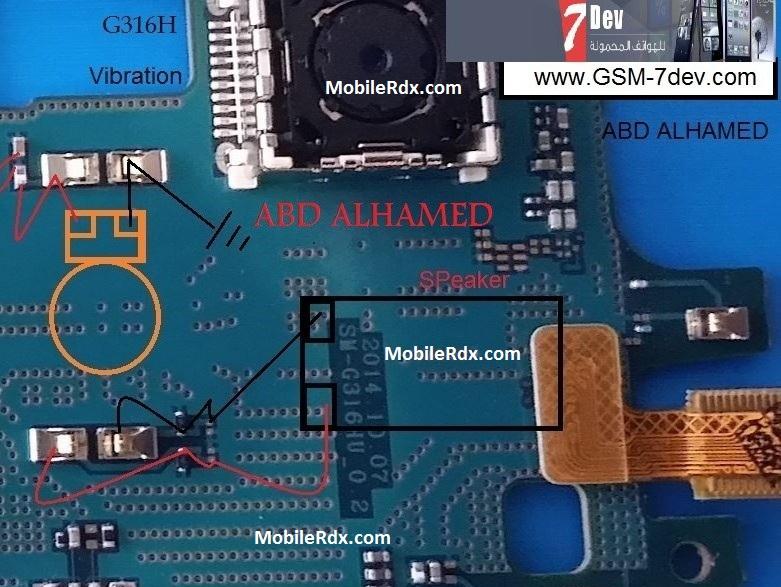 Samsung SM-G316H Ringer Problem Jumper Solution Ways