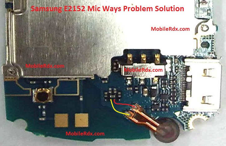 Samsung GT-E2152 Mic Problem Ways Solution Jumper