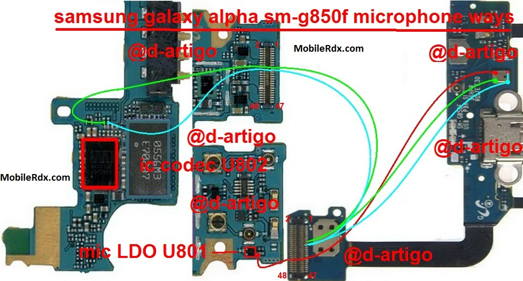 Samsung Galaxy Alpha G850F Mic Problem Ways Solution