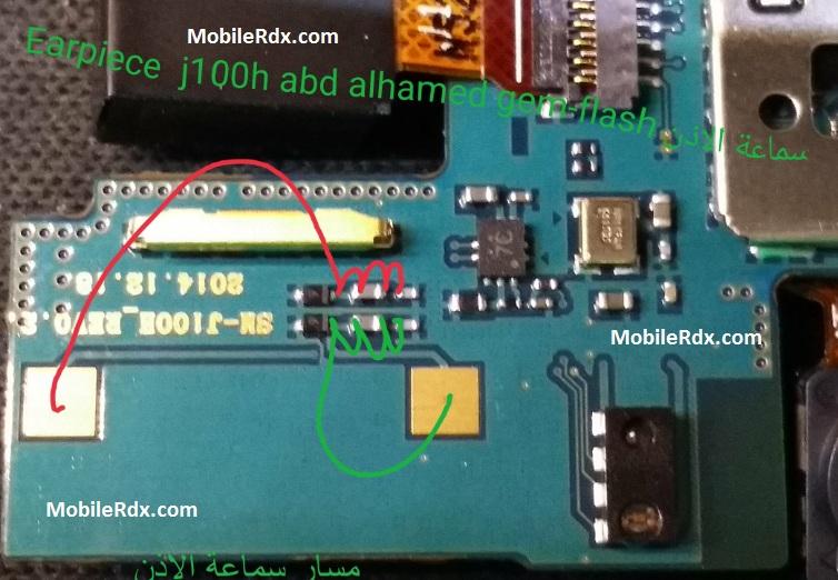 Samsung Galaxy J1 J100H Earpiece Problem Speaker Ways