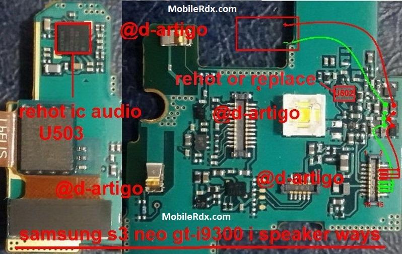 Samsung Galaxy S3 Neo I9300I Ringer Ways Speaker Solution Jumper