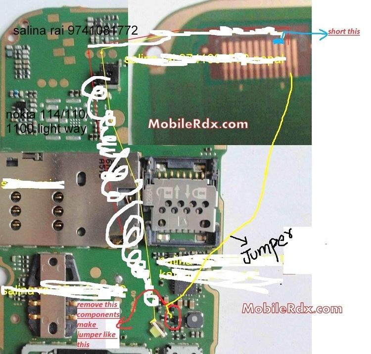 Nokia 112 Display Light Ways Problem Solution