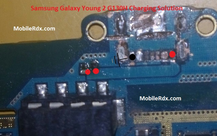 Samsung Galaxy Young 2 G130H Charging Problem Solution