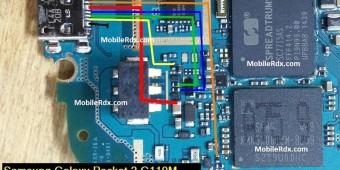 Samsung SM-G110M Charging Ways Usb Jumper Solution