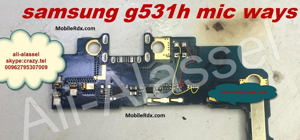 Samsung G531H Mic Ways Problem Jumper Solution