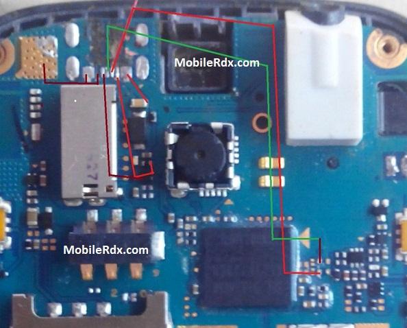 Samsung GT-C3262 Charging Solution Usb Jumper Ways