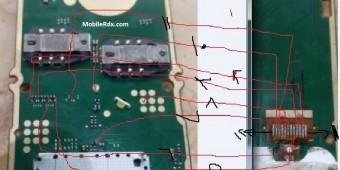 Nokia 105 RM-1133 Display Ways Light Jumper Solution