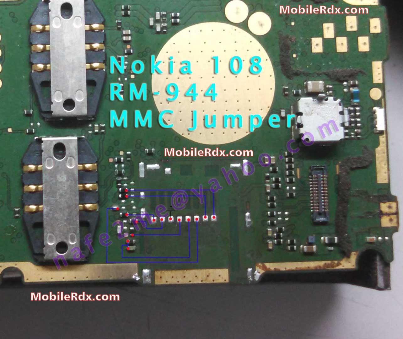 Nokia 108 Memory Card Ways MMC Solution