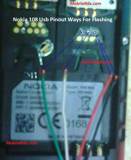 Nokia 108 Usb Pinout Ways For Flashing