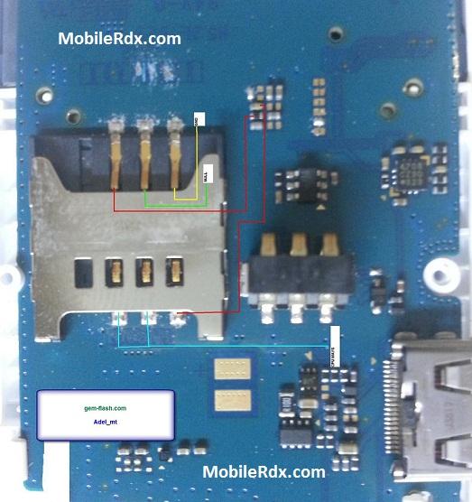 Samsung E1205T Sim Jumper Simcard Problem Ways