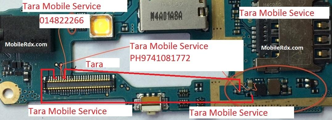 Samsung G313H Display Light Jumper Tested Solution Ways