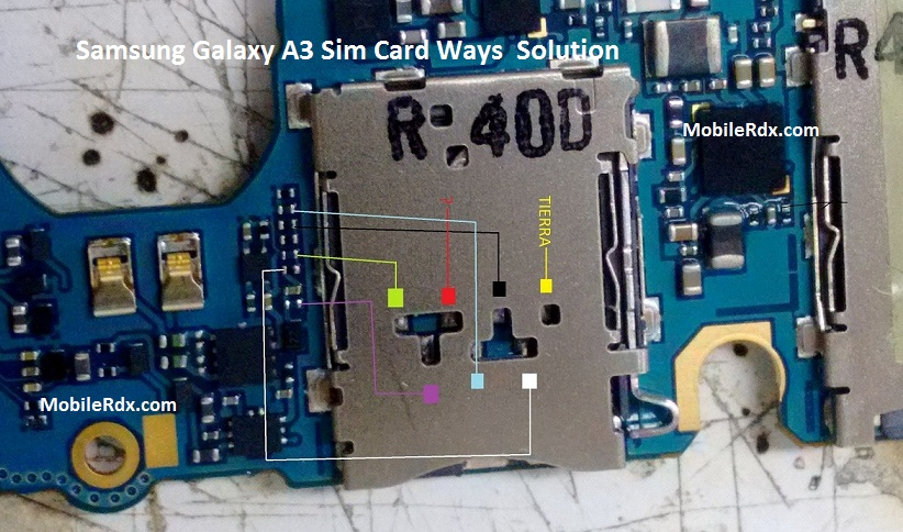 Samsung Galaxy A3 Sim Card Ways Problem Jumper Solution