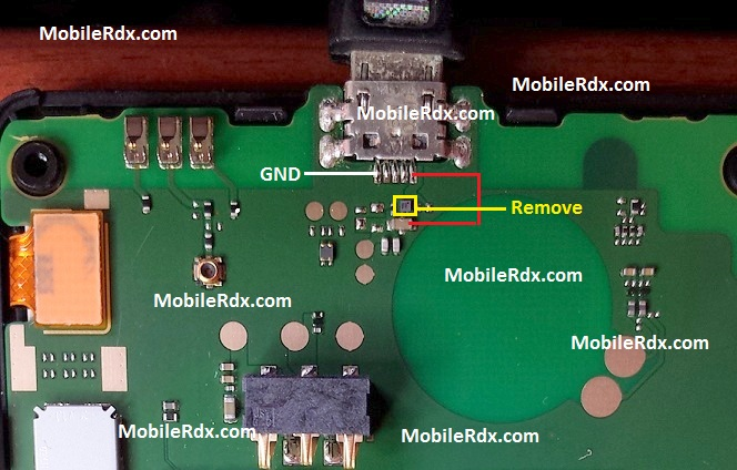 Microsoft Lumia 435 RM-1070 Charging Problem Solution