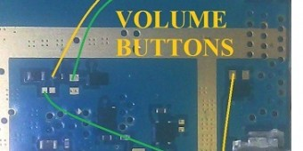 Samsung Galaxy Ace 4 G313H Volume Button Ways