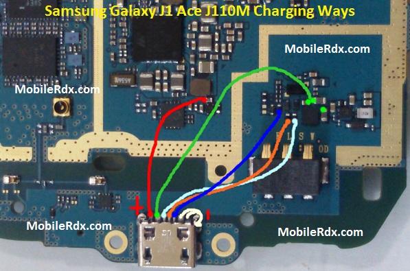 Samsung Galaxy J1 Ace J110M Charging Usb Ways Solution