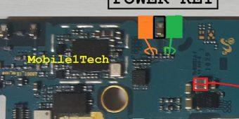 Samsung A8 SM-A800 Power Button Ways Solution